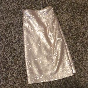 Smartly Sequined Skirt